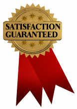 Payroll Service satisfaction guaranteed ribbon