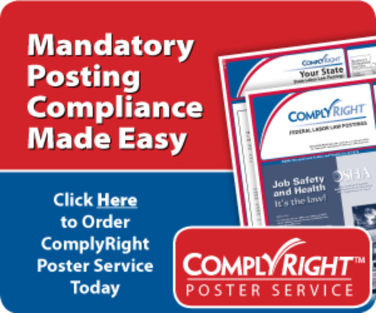 photo of Posting Compliance made easy flyer
