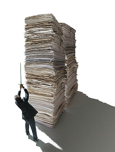 photo of paper-pile