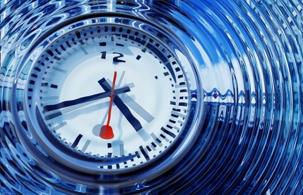 Techno clock